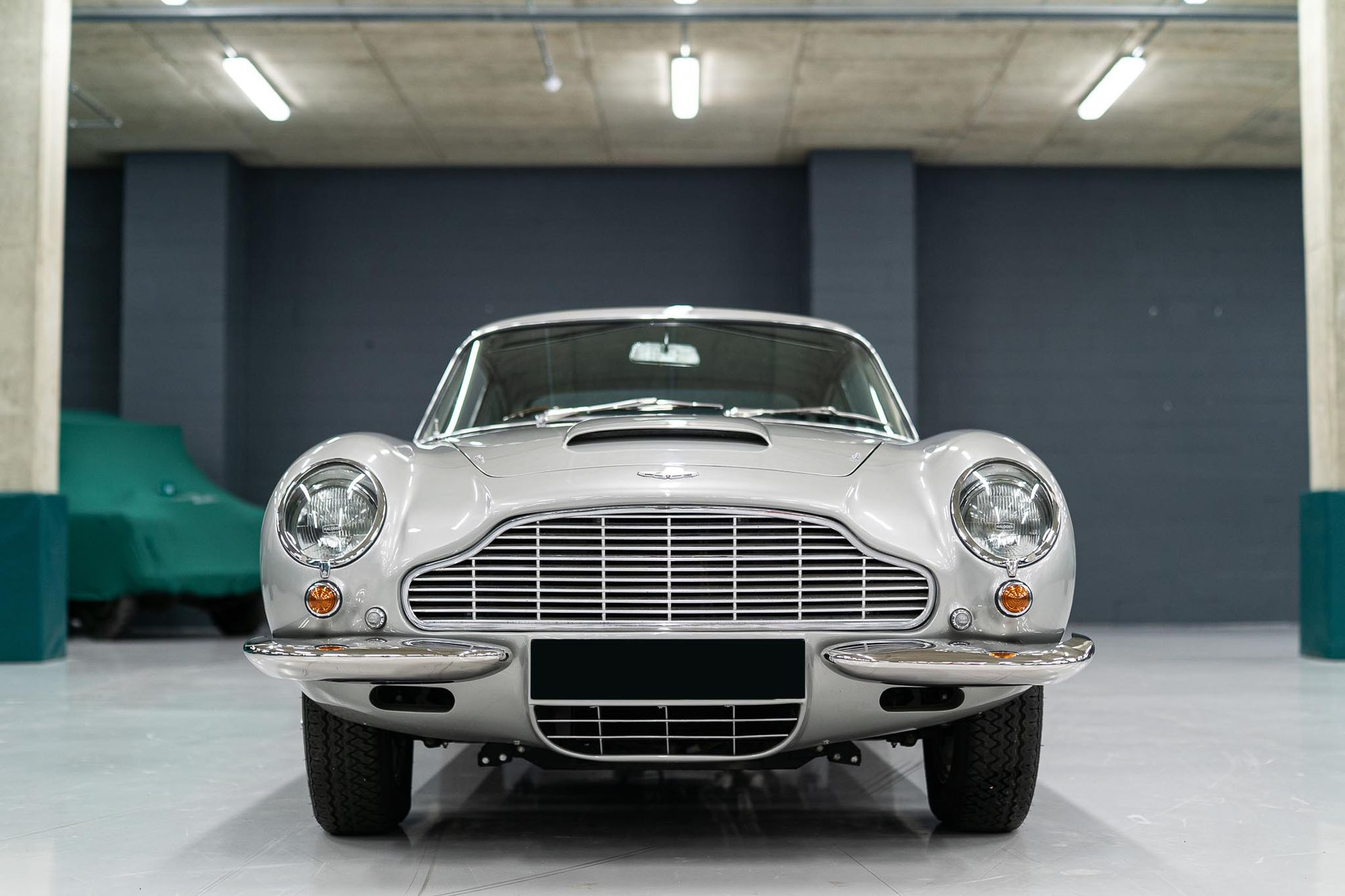 1966 Aston Martin  DB6 with manual transmission RHD