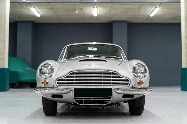1966 Aston Martin DB6 with manual transmission RHD