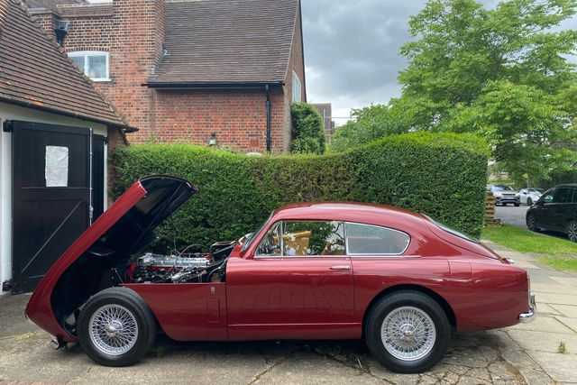 1958 Aston Martin DB MKIII Sports Coupe